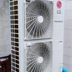 pompa ciepła powietrze woda LG 12Kw